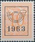 Belgium 1963 Heraldic Lion with Precancellations c