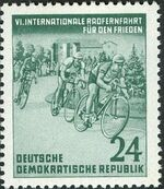 Germany DDR 1953 6th International Bicycle Peace Race a