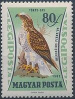 Hungary 1962 65th Anniversary of the Agricultural Museum - Birds of Prey d