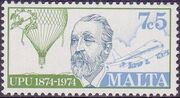 Malta 1974 Centenary of Universal Postal Union c