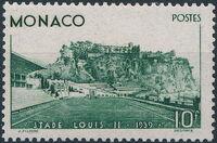 Monaco 1939 Inauguration of the Louis II Stadium a