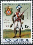Mozambique 1967 Military Uniforms l