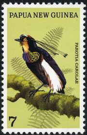 Papua New Guinea 1973 Birds of Paradise a