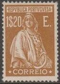 Portugal 1926 Ceres (London Issue) r