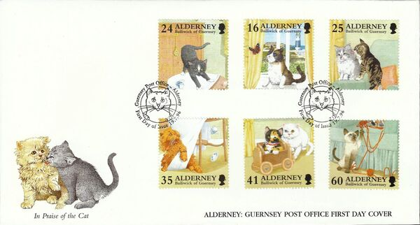 Alderney 1996 In Praise of the Cat i
