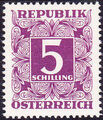 Austria 1949 Postage Due Stamps - Square frame with digit (1st Group) p.jpg