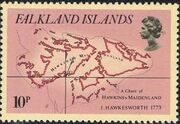 Falkland Islands 1981 18th Century Maps and Charts of the Falkland Islands b