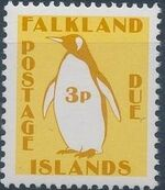 Falkland Islands 1991 Penguins (Postage Due Stamps) c