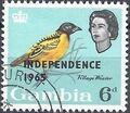 Gambia 1965 Birds Overprinted g.jpg