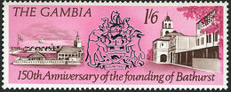 Gambia 1966 150th Anniversary of the Founding of Bathurst d