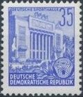 Germany DDR 1953 Workers For The Five-year Plan m