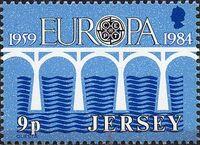 Jersey 1984 EUROPA CEPT a