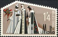 Malta 1968 Christmas c