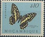 Mozambique 1953 Butterflies and Moths a