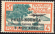 New Caledonia 1933 Definitives of 1928 Overprinted c