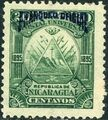 Nicaragua 1895 Official Stamps Overprinted in Blue e.jpg