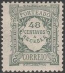 Portugal 1922 Postage Due Stamps (Unicolor) k