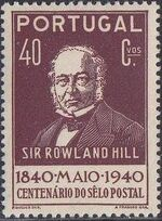 Portugal 1940 Centenary of First Adhesive Postage Stamps d