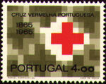 Portugal 1965 Centenary of Portuguese Red Cross b