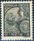 "Portuguese India 1933 ""Padrões"" e"