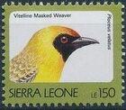 Sierra Leone 1992 Birds l