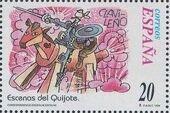 """Spain 1998 Scenes from """"Don Quixote"""" r"""