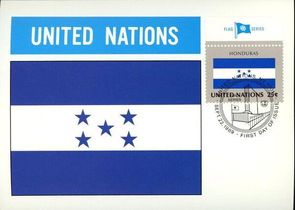 United Nations-New York 1989 Flag Series MCi