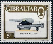Gibraltar 1987 Guns and Artillery e