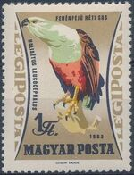 Hungary 1962 65th Anniversary of the Agricultural Museum - Birds of Prey e