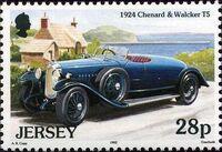 Jersey 1992 Vintage Cars c