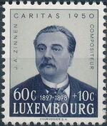 Luxembourg 1950 Jean Antoine Zinnen a