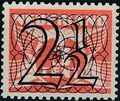 Netherlands 1940 Numerals - Stamps of 1926-1927 Surcharged a.jpg