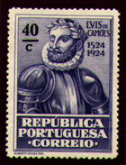 Portugal 1924 400th Birth Anniversary of Camões n