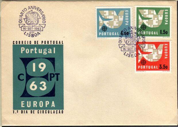 Portugal 1963 Europa d