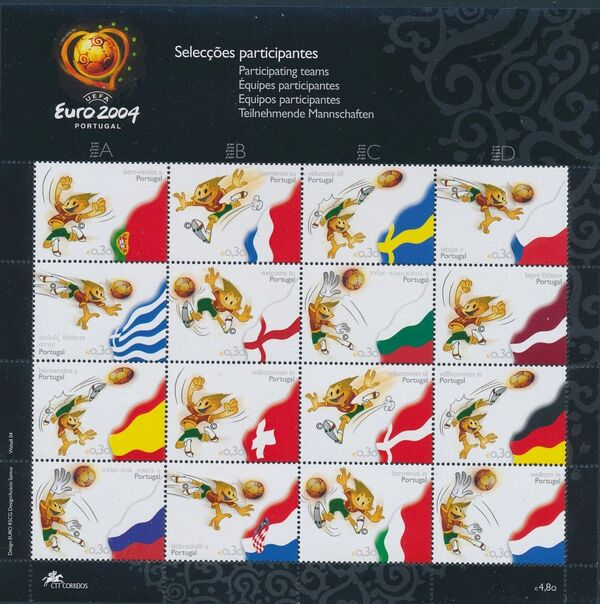 Portugal 2004 UEFA EURO 2004 - Teams Participating MSa