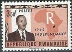 Rwanda 1962 Independence e