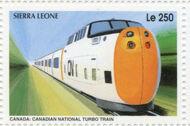 Sierra Leone 1995 Railways of the World 3j