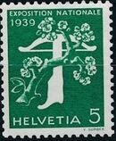 Switzerland 1939 National Exposition of 1939 a