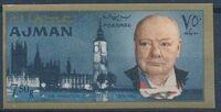 Ajman 1966 Winston Churchill p