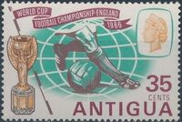 Antigua 1966 World Cup Soccer b