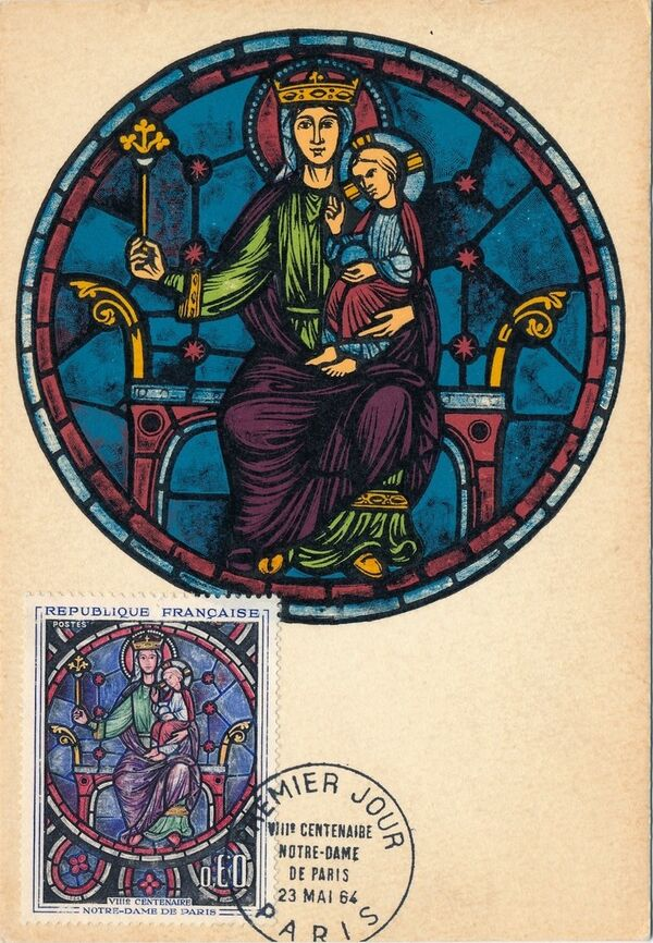 France 1964 800th Anniversary of Notre Dame Cathedral MCa