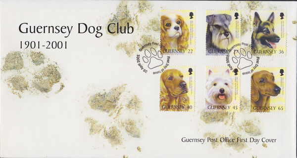 Guernsey 2001 Centenary of Guernsey Dog Club g