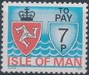 Isle of Man 1975 Postage Due Stamps d