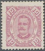 Macao 1894 Carlos I of Portugal b