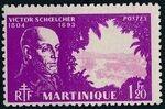 Martinique 1945 Victor Schoelcher i
