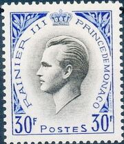 Monaco 1955 Prince Rainier III f