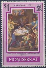 Montserrat 1970 Christmas d