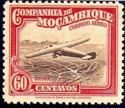 Mozambique Company 1935 Inauguration of the Airmail (2nd Issue) i