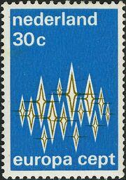 Netherlands 1972 Europa a