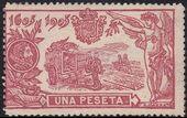 Spain 1905 Don Quixote Issue h